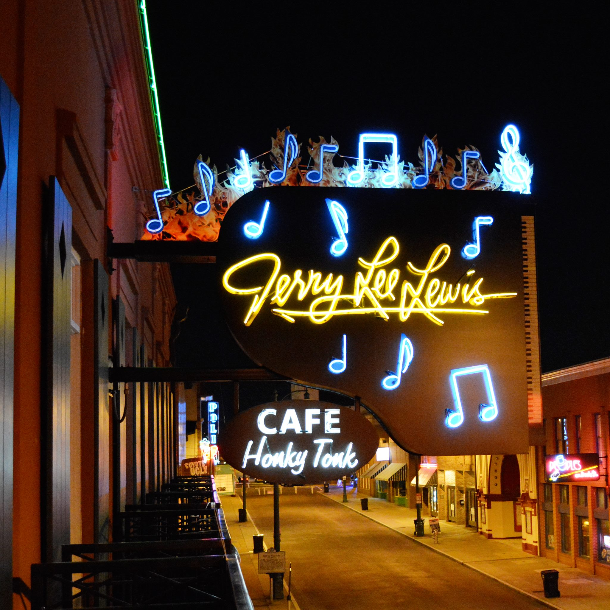 We're Now Partnered with the Jerry Lee Lewis Café!