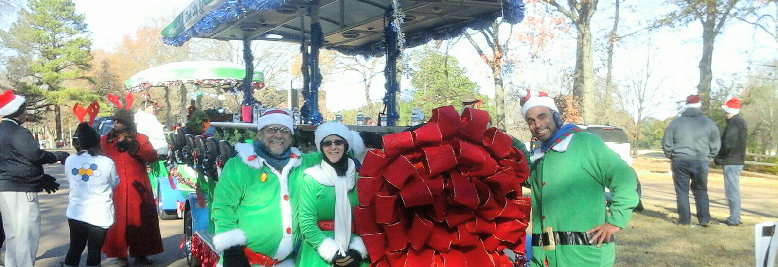 Join River City Pedalers at the Beale street  Christmas Parade